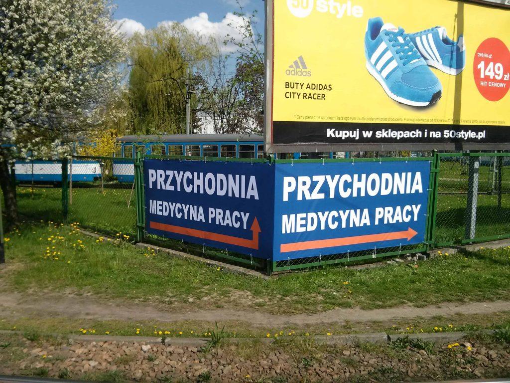 Baner Kraków - przychodnia